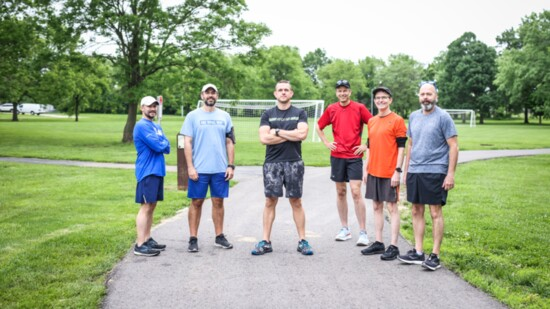 Local runner has stepped up to the challenge of staying fit.