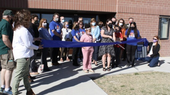 Clifton Elementary's New Library
