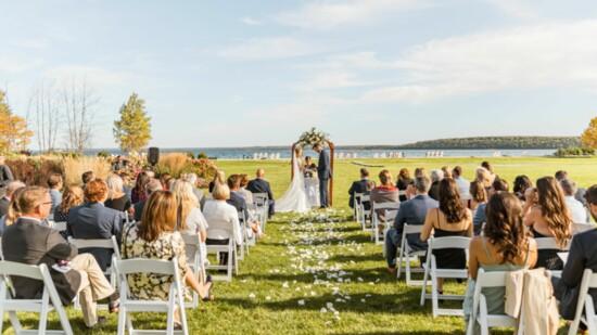 Nuptials on Mackinac Island