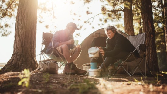 A TASTE FOR FALL CAMPING