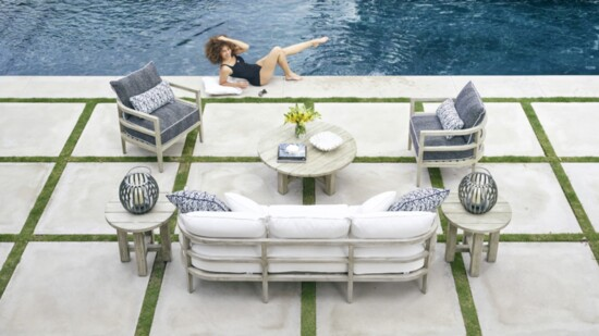 Sitting Pretty with Summer Classics at Aldik Home