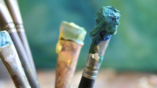An Artist's Paintbrush