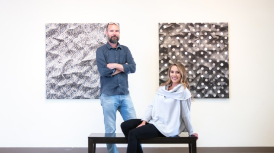 Artworks with Michael Anthony from Simon and Pilar Boutique