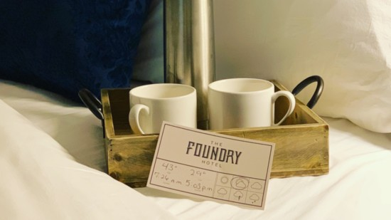 The Luxurious Side of Asheville, N.C. at The Foundry Hotel