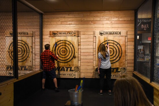 Axe Throwing Has Never Been More Chic