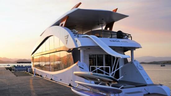 Bravada Yachts Launches 80-foot Yacht at Lake Pleasant