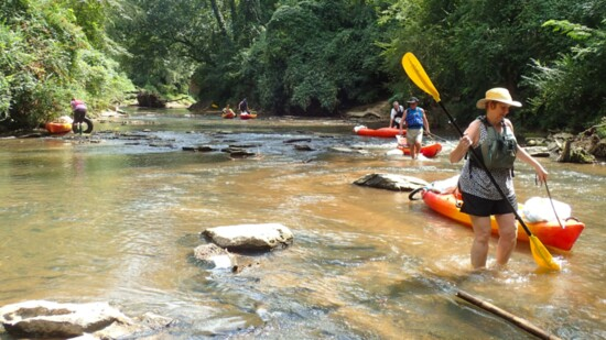 Checking out the Chattahoochee