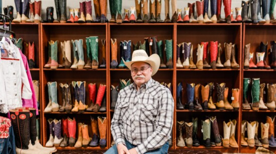 Cowboy up in comfort and style at Ramblin Trails Custom Boots