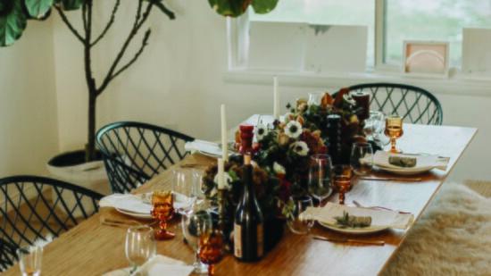 Cozy Farm-to-Table Feast: Underground Fine Dining