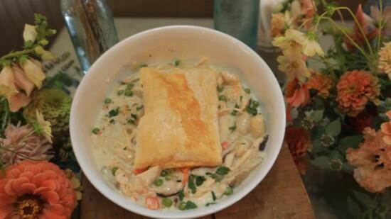 Chicken Pot Pie Gnocchi