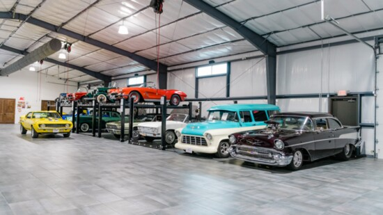 Curator of Classic Cars Billy Bird