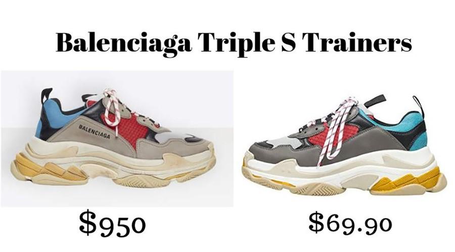 Designer Sneaker Dupes