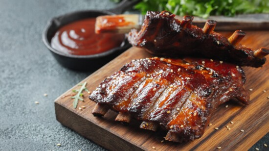 Dugout Bar and Grill - Smoked Ribs