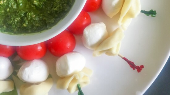Festive Tortellini Caprese