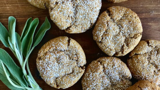 Gluten-Free Beurre Noisette Sweet Potato Sage Cookies