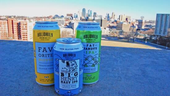 Holidaily Brewing's Big Henry Hazy IPA