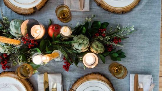 Holiday Table Décor