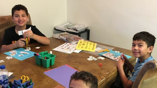 ICAN Stays Connected to Chandler Families with Activity Kits