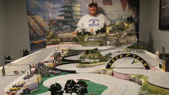 In-Home Slot Car Track