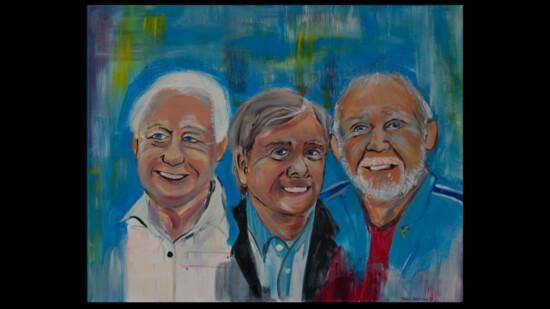 Artists Honor Outstanding Men of the Woodlands