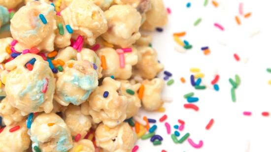 Make Your Own Nosh Inspired Confetti Popcorn