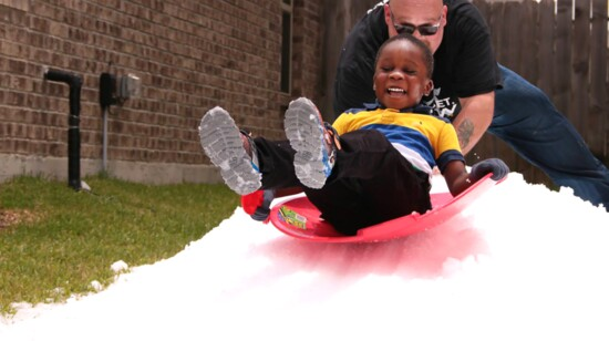Making it Snow on Childhood Cancer