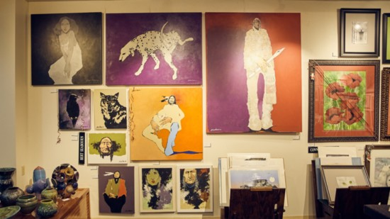 Meet the Artists of 50 Penn Place Gallery
