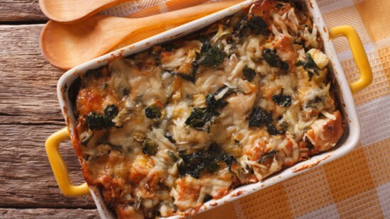 Mother's Day Breakfast Strata