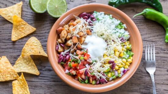 New Mexican Burrito Bowl