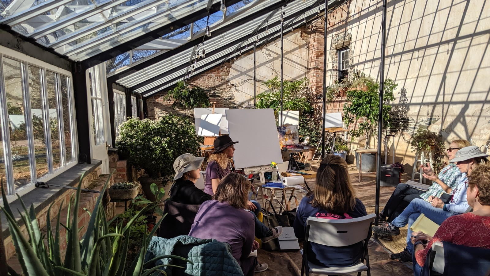 Oatlands Greenhouse Studio Grows New Artists And Ideas