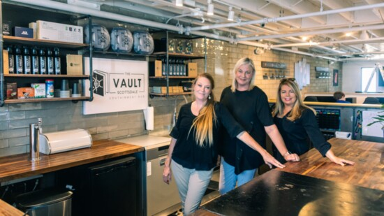 Opening 'The Vault'