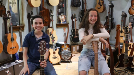 Outstanding Siblings at The Guitar Sanctuary Performance Academy