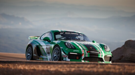 Porsches New and Old  Compete in Hill Climb