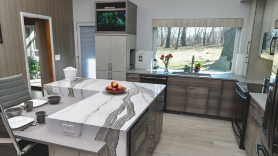 Remodeled Kitchen a Tribute to 50 Years Together