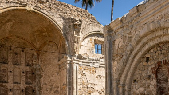 Return of the Swallows at Mission San Juan Capistrano
