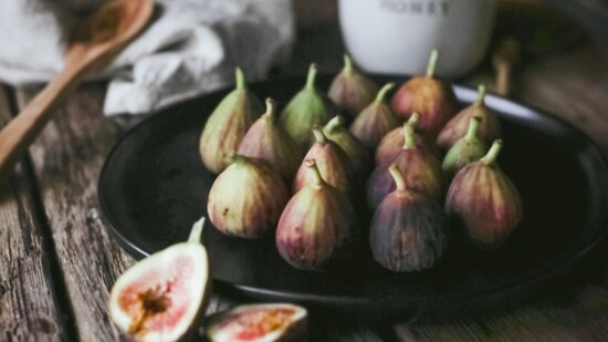Roasted Fig and Goat Cheese with Honey