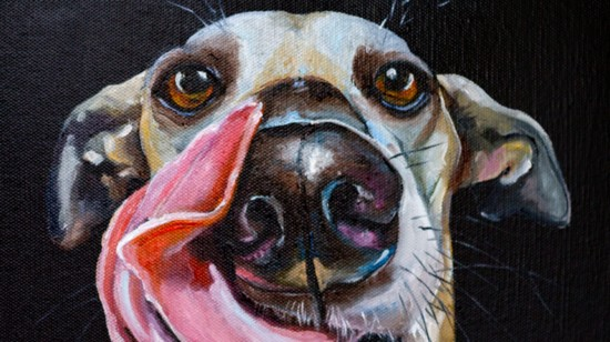 Artist Laurien Dowdy's Animal Portraits