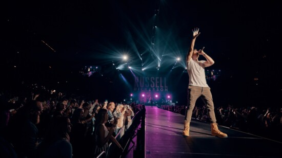 Loving His Country: Russell Dickerson on Tour