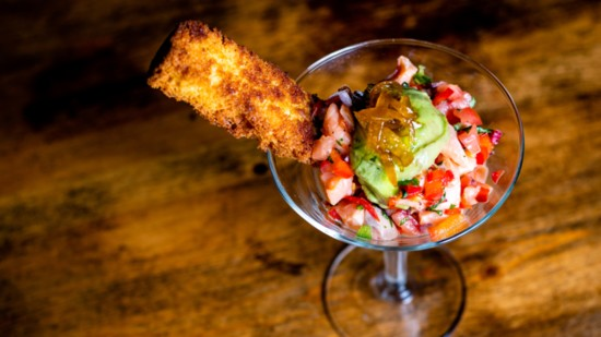 Salmon Belly Ceviche