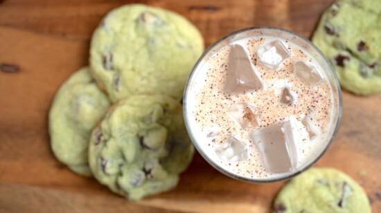 Santa's Boozy Milk & Cookies