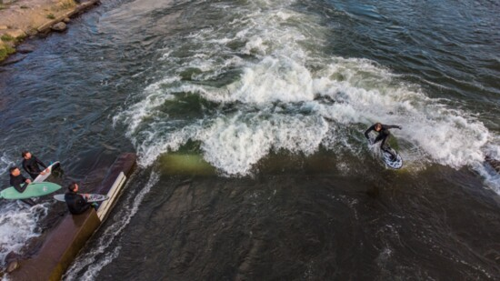 Saving Lives and Surfing the River