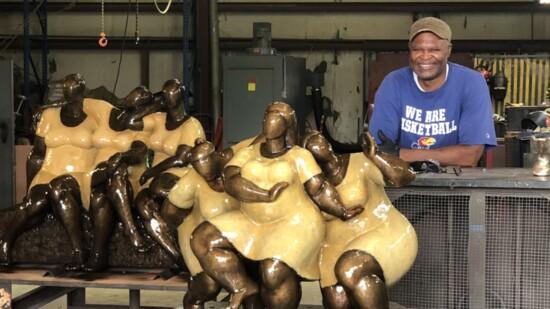 Sculpting Bronze Beauty