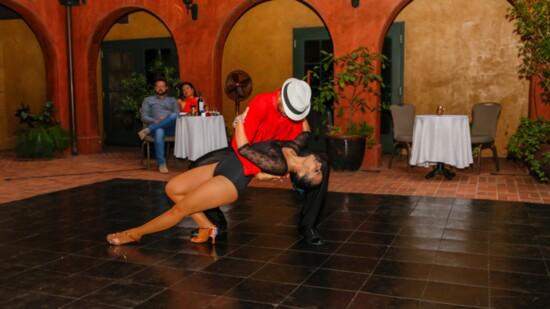 Tango in the Courtyard