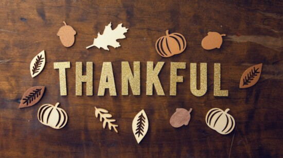 5 Things I'm Thankful For