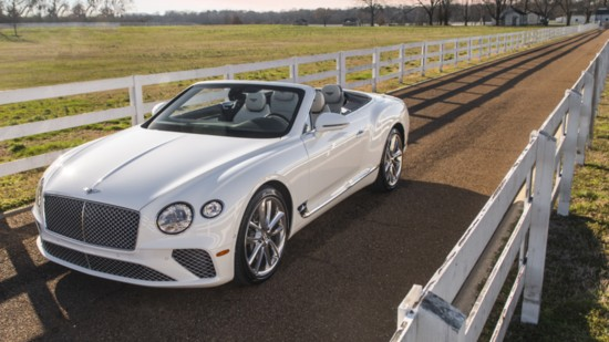 The 2020 Bentley Continental GT W12 Convertible