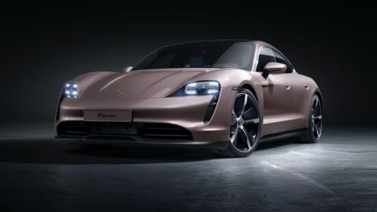 The 2021 Porsche Taycan