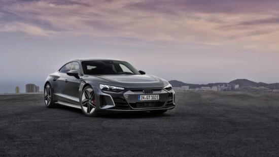The 2022 Audi e-tron GT