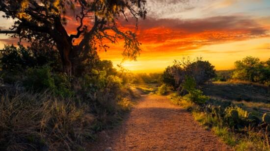 The Sun Rises Over Boerne