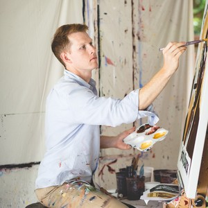patrick%20lewis%20working%20on%20a%20new%20painting%20at%20his%20home%20in%20buckhead-300?v=1