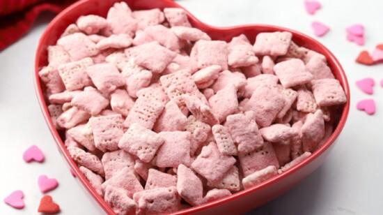 Valentine's Snack Mix: